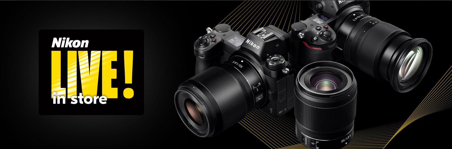 Scopri la nuova Nikon Z Alla Rotonda con Nikon Live! in Store